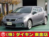 レクサスCT200hバージョンL ナビTV本革SR